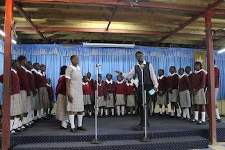 Kariobangi Choir Recording Sessions