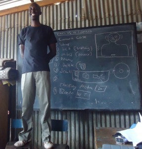 Henry teaching