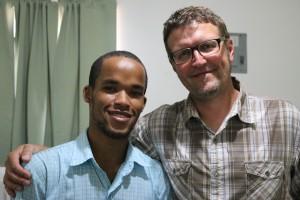 D.R. scholarship recipient Adriel Santos