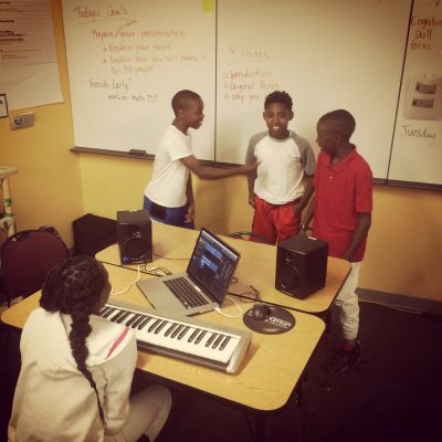 Song-writing Exploration at Venture Academy