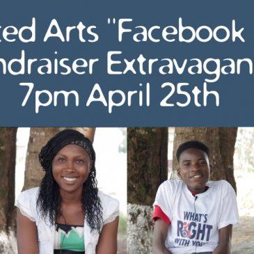 """2020 """"Facebook Live"""" Fundraiser Extravaganza"""