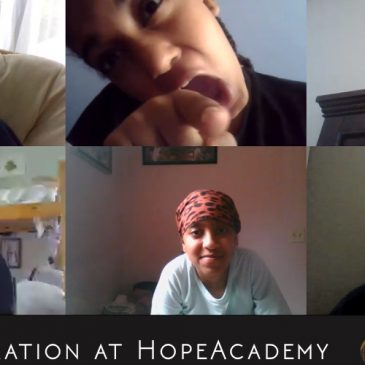 Virtual Art Exploration at Hope Academy