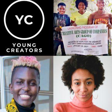 Young Creators Facebook Live Fundraiser